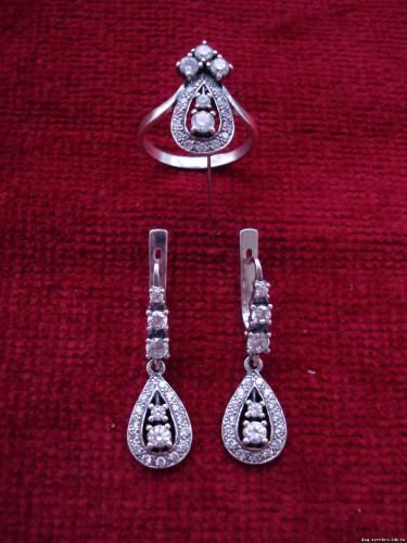 Кубачинское серебро украшения фото